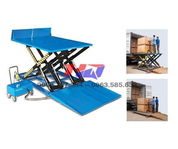 Bàn nâng thủy lực xe máy MODEL MJ-E2500