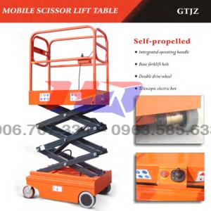 Thang nâng người tự hành 3m đến 5m Model GTJZ