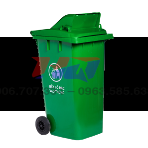 Thùng rác hở 120 L