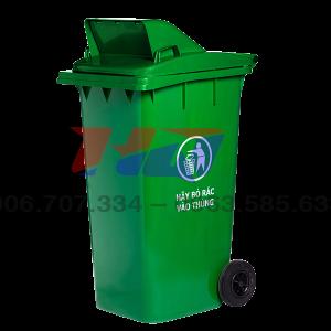 Thùng rác nắp hở 240 l