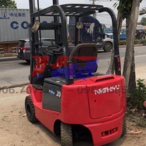 Xe nâng điện ngồi lái hiệu NICHIYU Tải trọng 1500kg